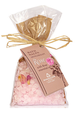 Rózsa 100g-os Fürdősó