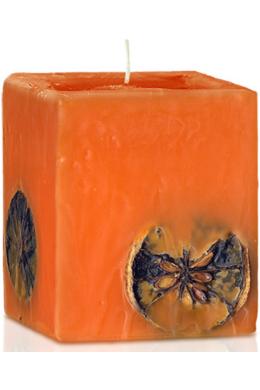 Narancs illatú gyertya