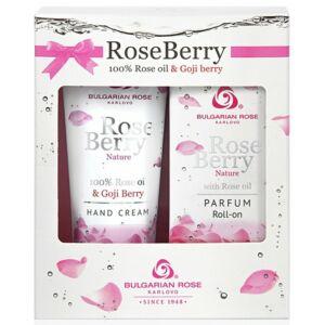 Bulgarian Rose RoseBerry Ajándékcsomag Kézkrémmel és Parfümmel