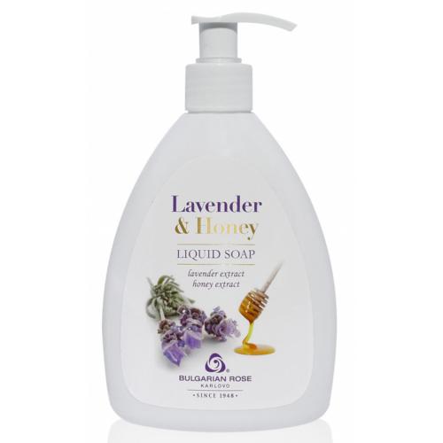 Bulgarian Rose Lavender & Honey Folyékony szappan 290ml