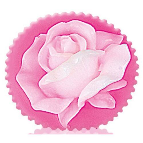 Bulgarian Rose Rose Fantasy - Rose Blossom Pink-Fehér Dekoratív Glicerines Szappan