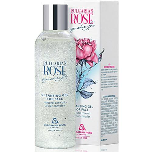 Bulgarian Rose Signature Spa Arctisztító Gél 200ml