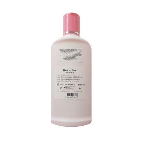 Alkoholos Rózsa Kézfertőtlenítő (száraz kéztisztó) 240 ml