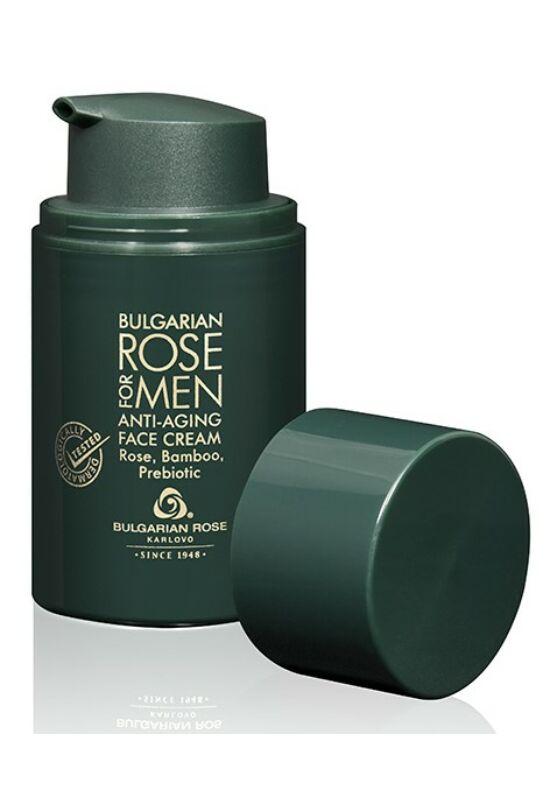 Bulgarian Rose Bulgarian Rose For Men Anti-Aging Férfi Arckrém