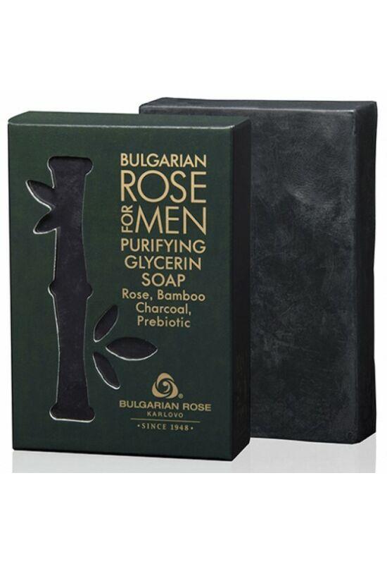 Bulgarian Rose For Men - Tisztító Glicerines Szappan 80g