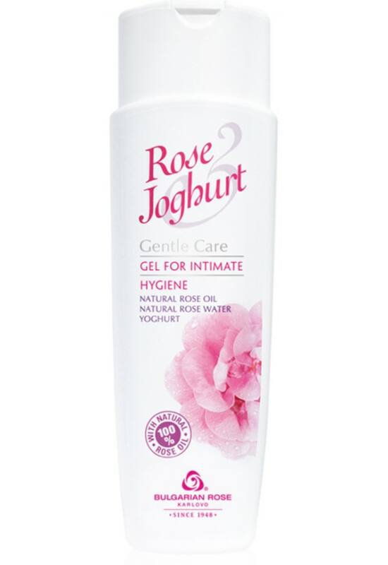 Bulgarian Rose Intim mosakodó gél 250ml - Rose Joghurt