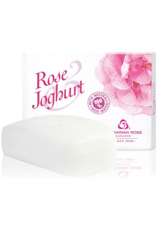 Bulgarian Rose Rose Joghurt Krémszappan 100g