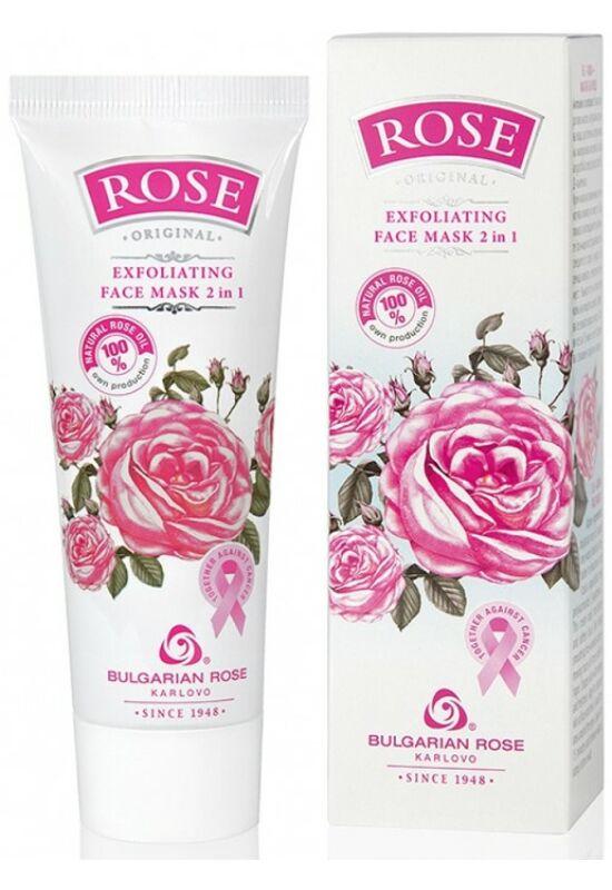 Bulgarian Rose Rose Original Hámlasztó 2 az 1-ben Arcmaszk 75ml