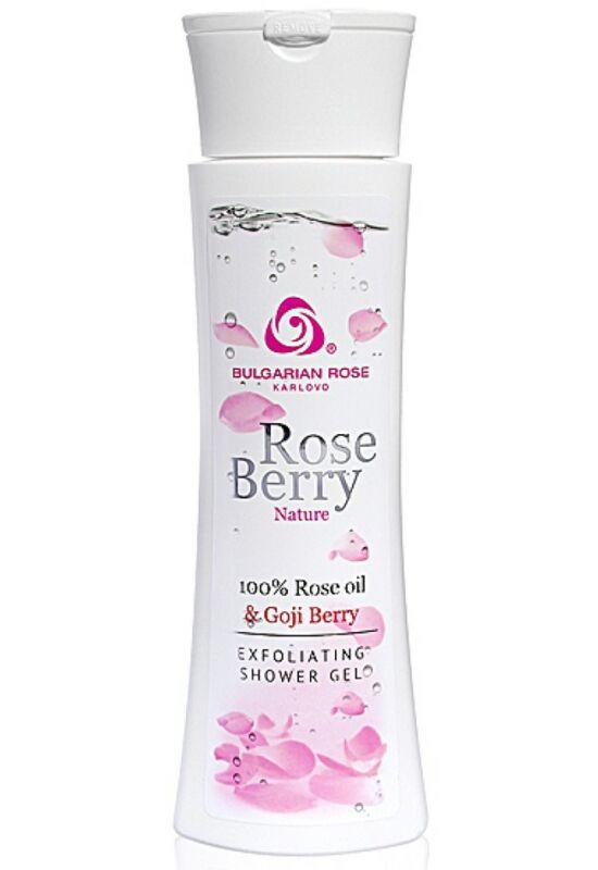 Bulgarian Rose RoseBerry Nature Hámlasztó Tusfürdő 200ml