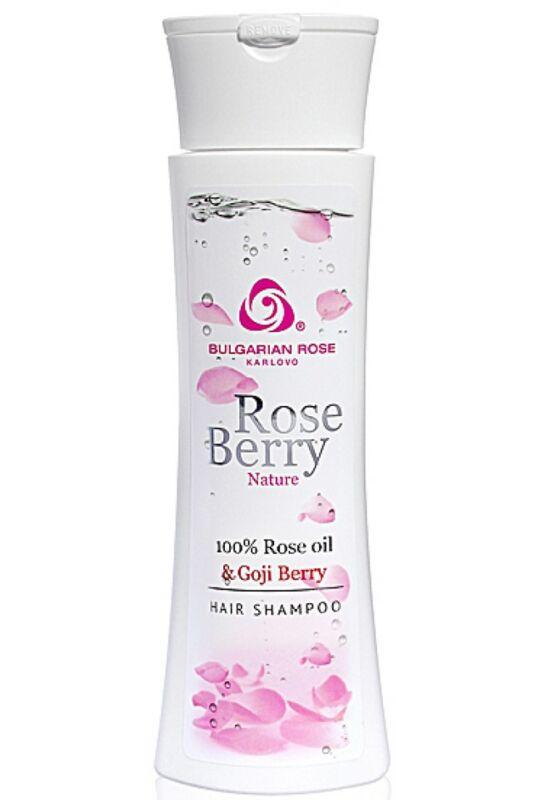 Bulgarian Rose RoseBerry Nature Sampon 200ml