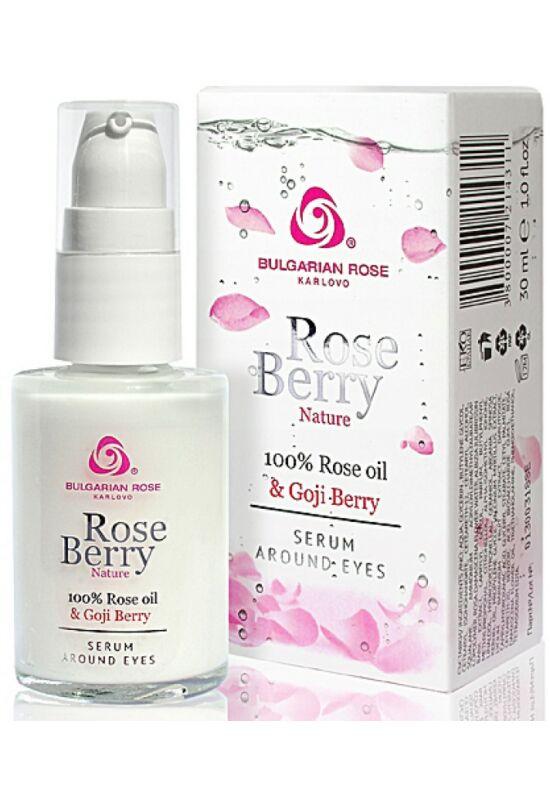 Bulgarian Rose RoseBerry Nature Szemkörnyékápoló Szérum 30ml