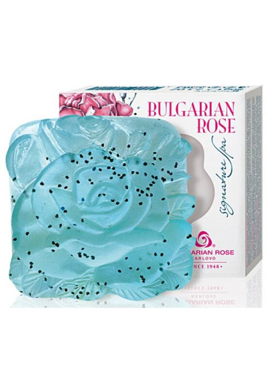Bulgarian Rose Signature SPA Szappan 80g - Kék