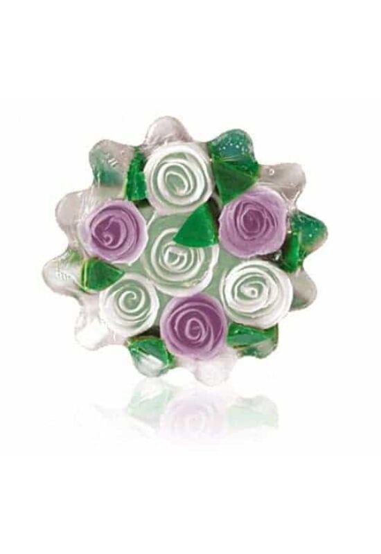 Rose Fantasy - Kosár fehér-lila