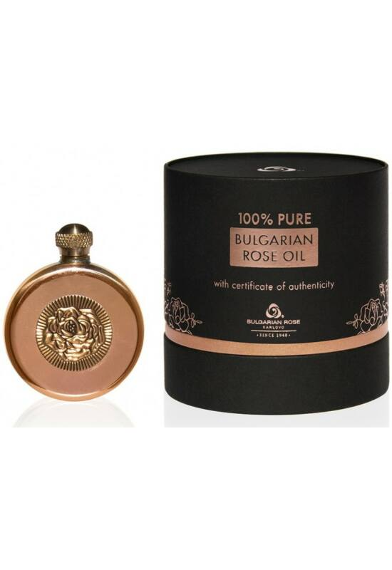 Bulgarian Rose 100% Rózsaolaj - Luxus Fekete Dobozban 7ml