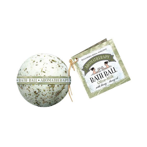 Fürdőgolyó - oliva-tej 130g