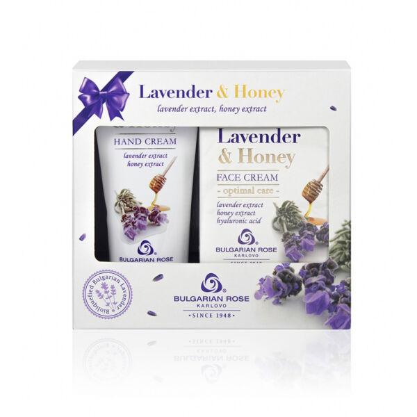 Lavender & Honey Ajándékcsomag Kézkrémmel és Arckrémmel