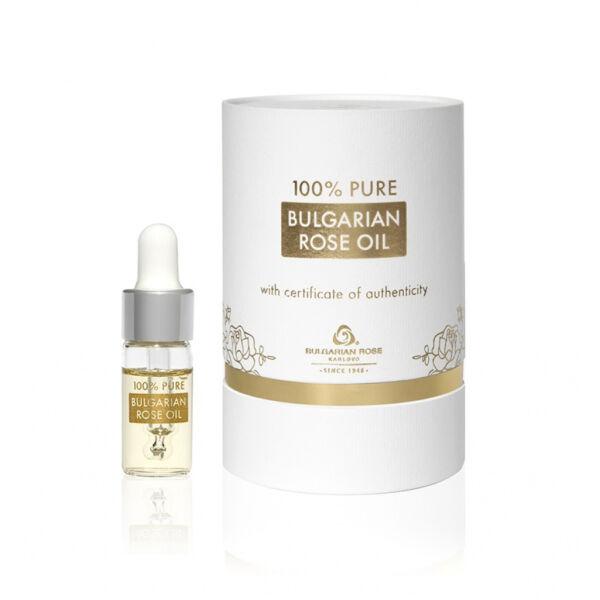 100% Rózsaolaj - Luxus Fehér Dobozban 3ml
